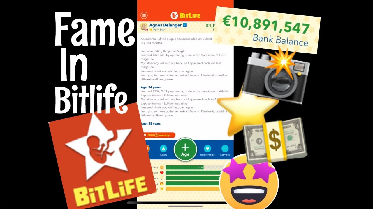 Famous in BitLife