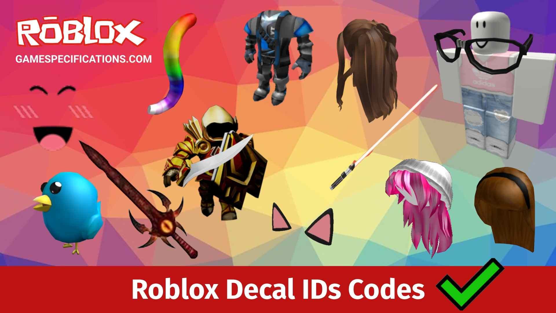 Roblox Decal ID