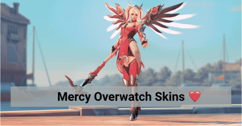 Overwatch Mercy Skins