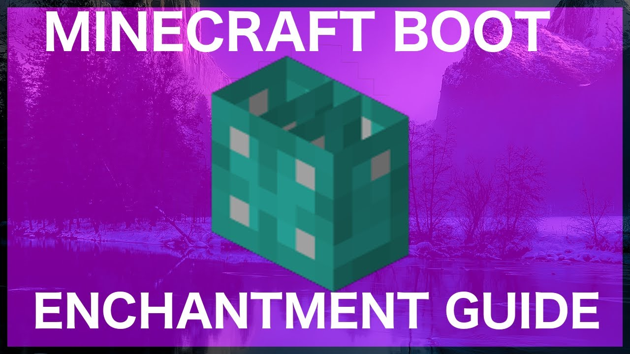 Minecraft Boot Enchantments