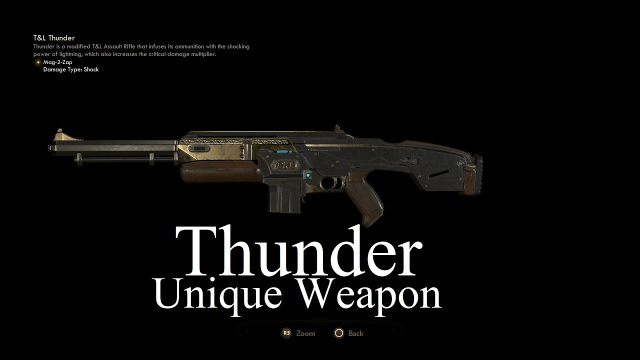 Outer Worlds Unique Weapons