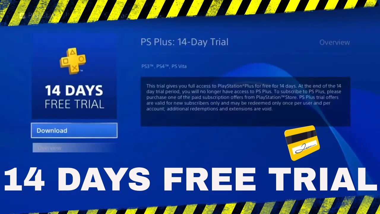 Access PS Plus 14 Day