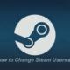 Change Steam Username