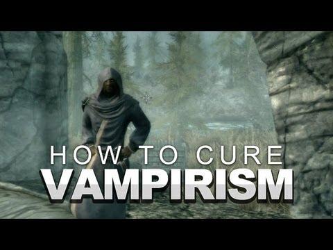 Cure Vampirism Skyrim
