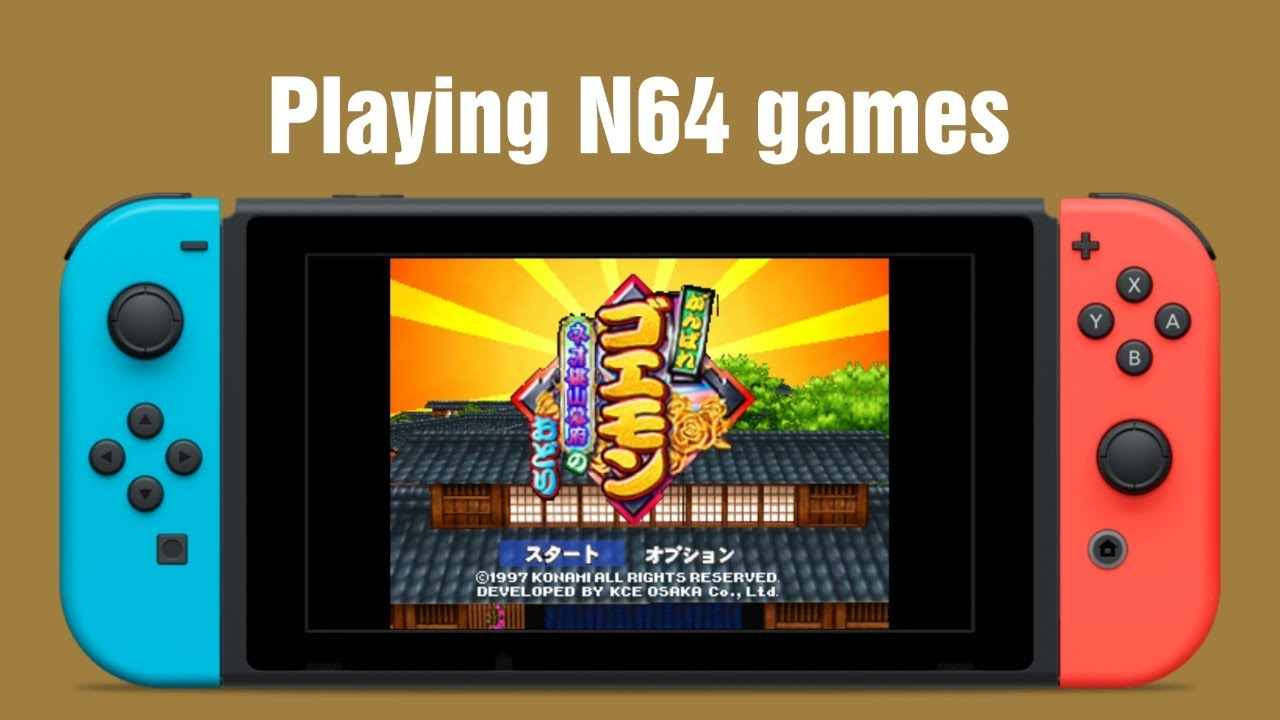 N64 Games on Switch