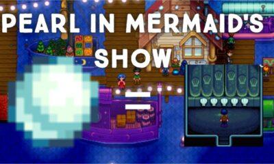Stardew Valley Mermaid Show