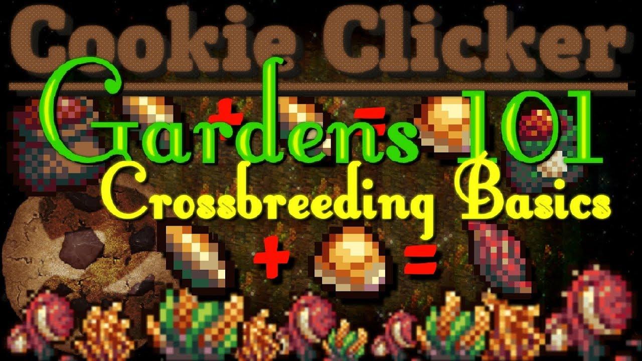 Cookie Clicker Garden