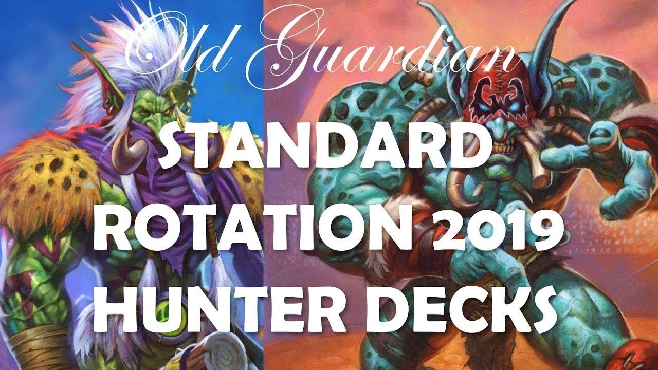 Hearthstone Standard Rotation