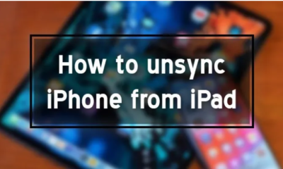 Unsync Iphone from Ipad