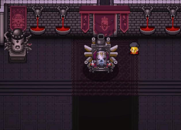 Enter the Gungeon Altar is Empty