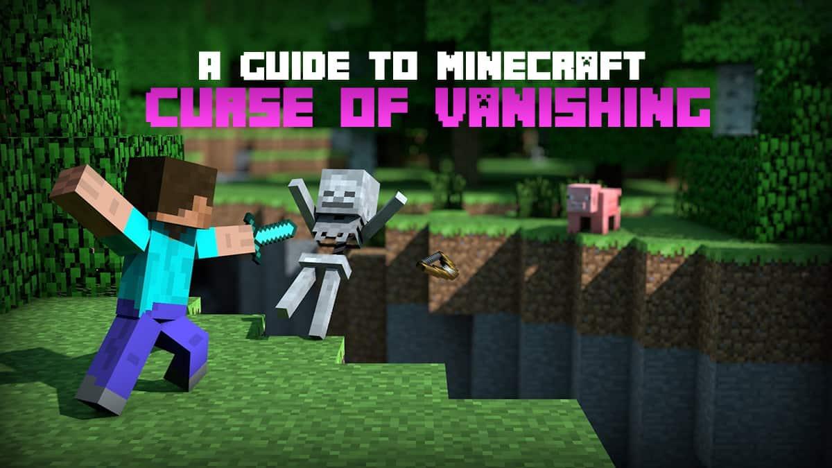 Remove Curse of Vanishing in Minecraft