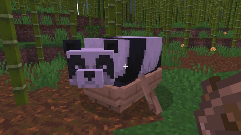Breed Pandas in Minecraft
