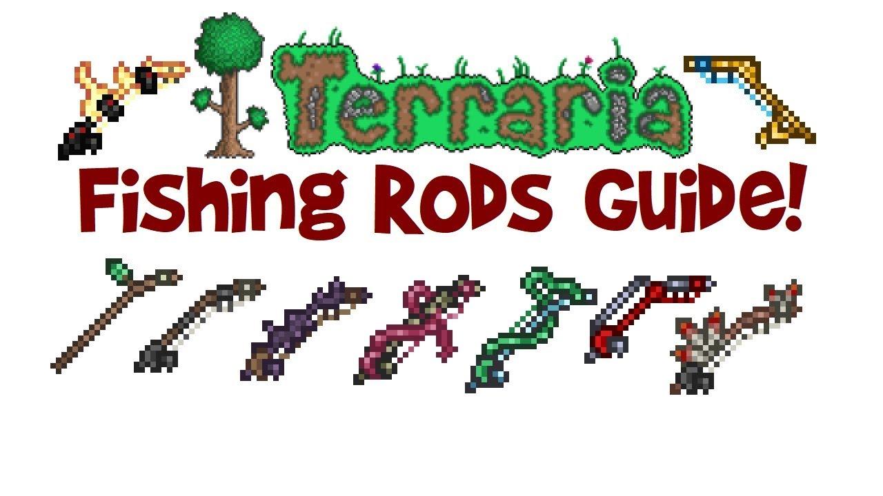 Best Fishing Rods Terraria