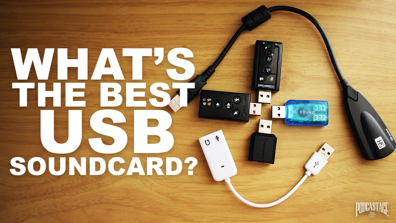 Best USB Sound Card