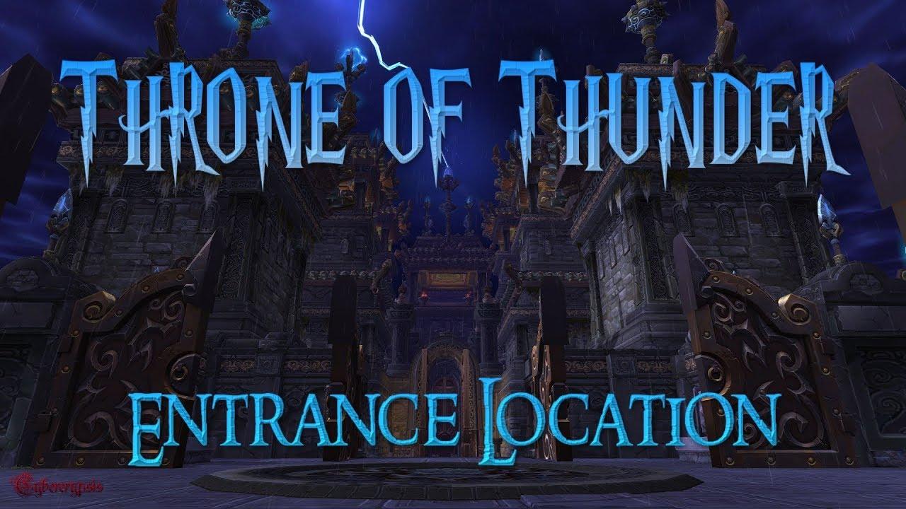 Throne of Thunder Entrance