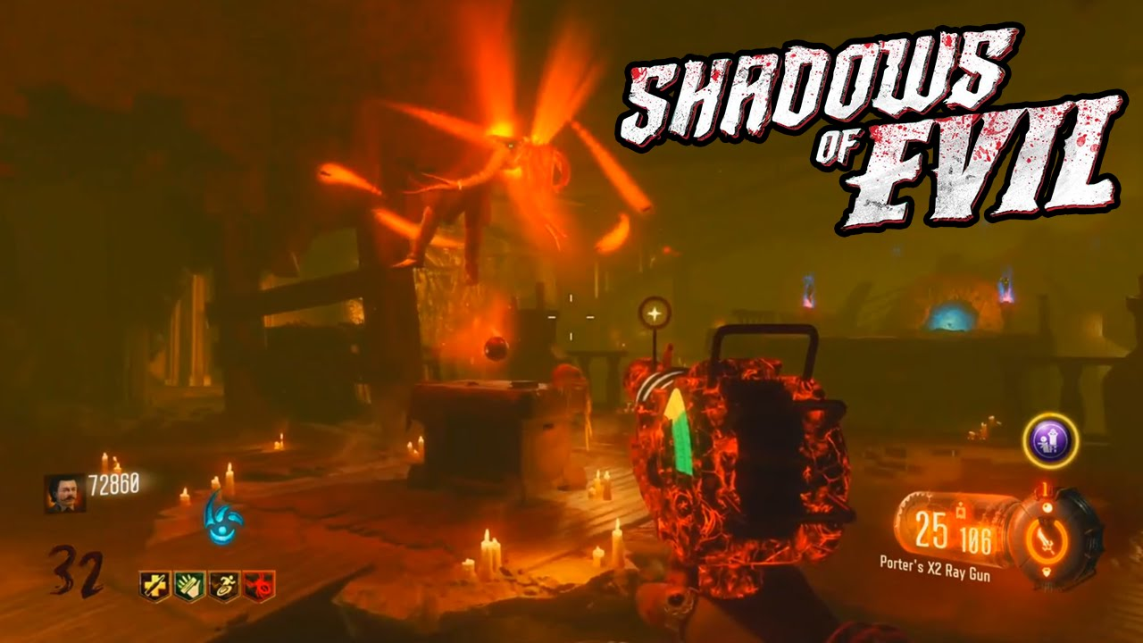 Zombies Shadows of Evil Easter Egg
