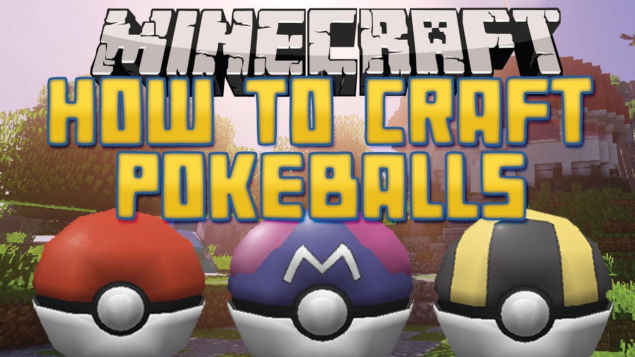 Poké Balls In Pixelmon Reforged Mod