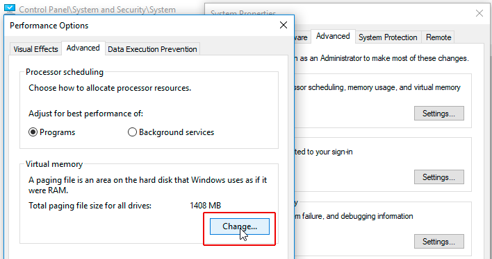 Disk Usage On Windows 10