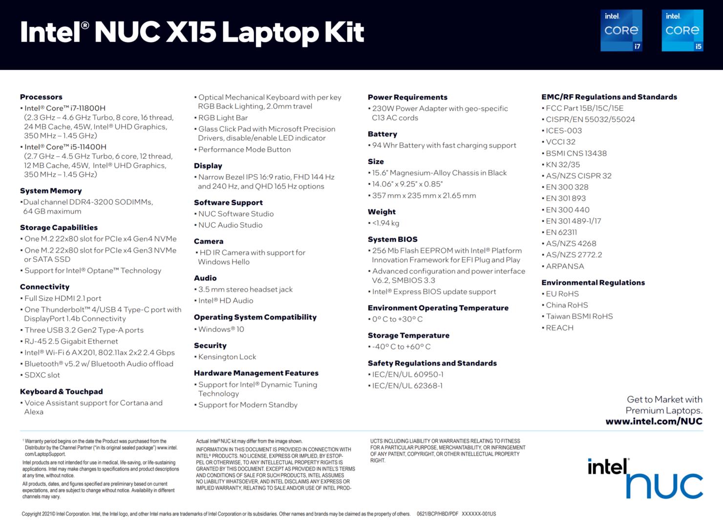 Intel Presents NUC X15