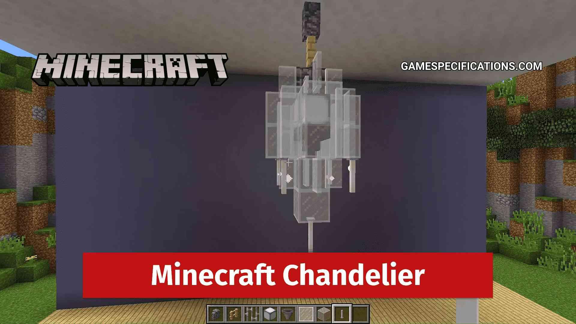 Make a Chandelier in Minecraft