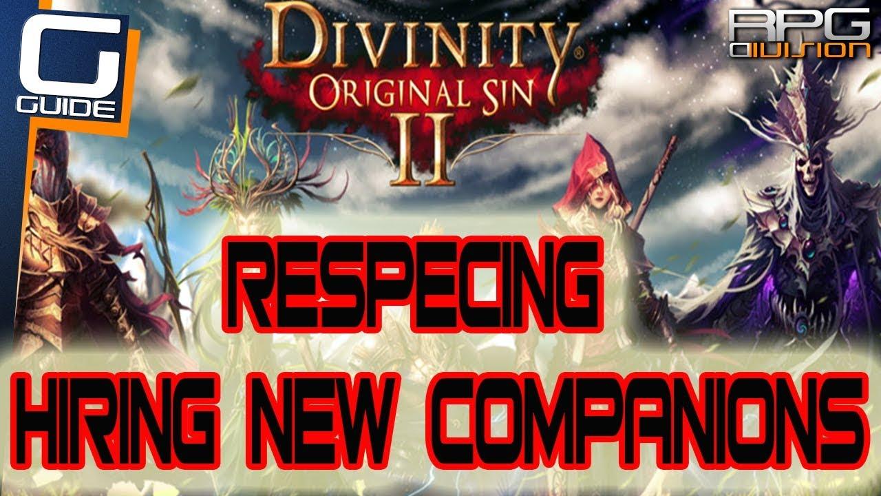 Respec your Character in Divinity: Original Sin 2