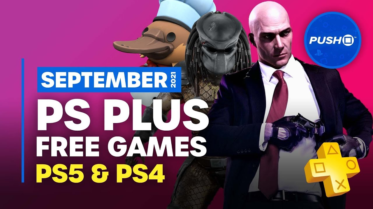 PS Plus PS5 PS4 Games