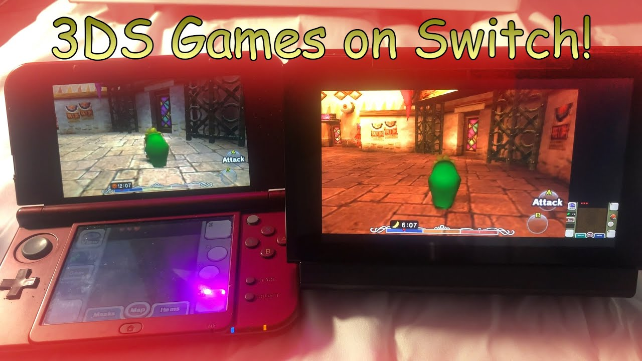 Play 3DS Games on Switch
