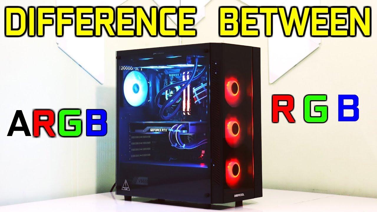 ARGB vs RGB