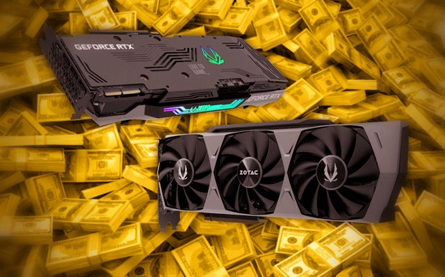 Nvidia and AMD graphics cards