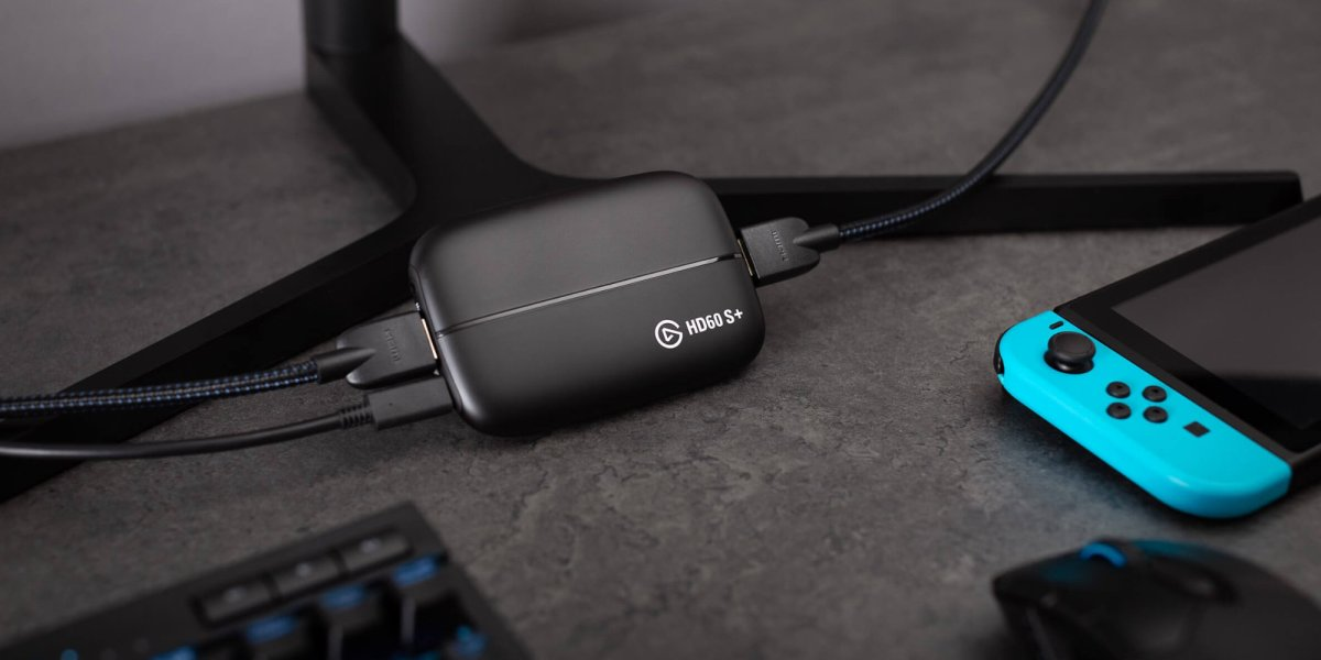 Elgato HD60 S+ capture card with 4K60
