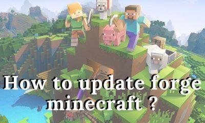Update Forge Minecraft