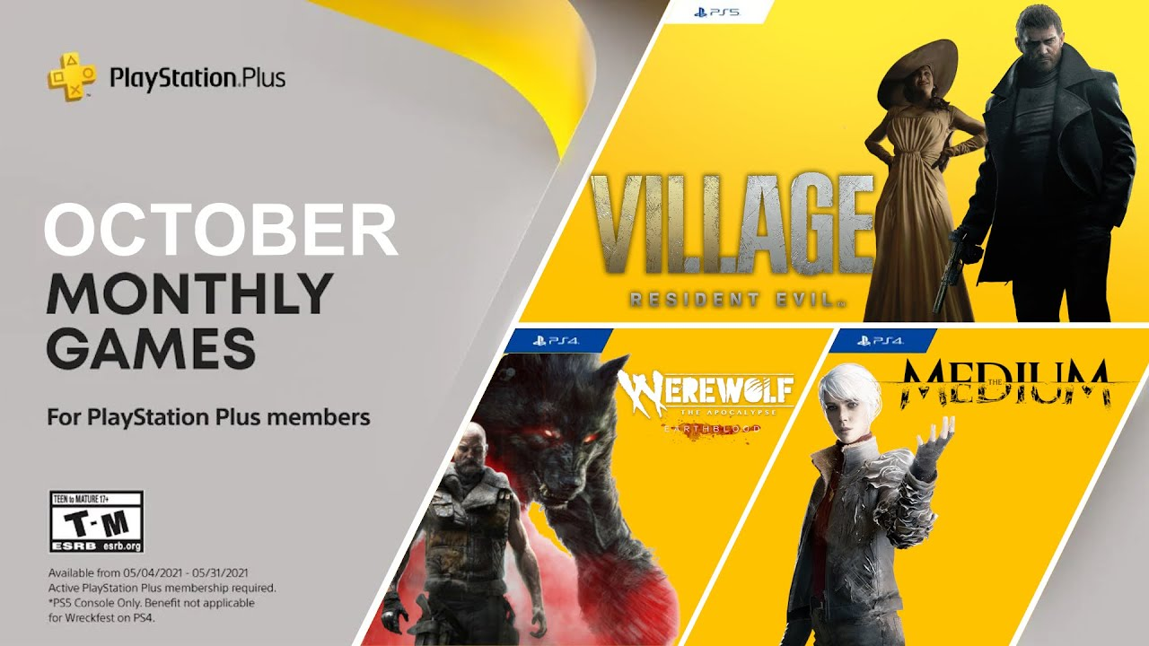 PS Plus Games for October