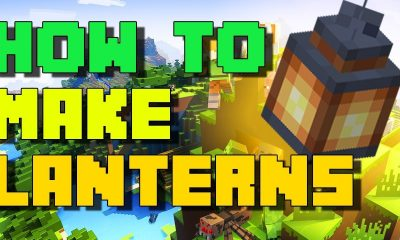 Lanterns in Minecraft